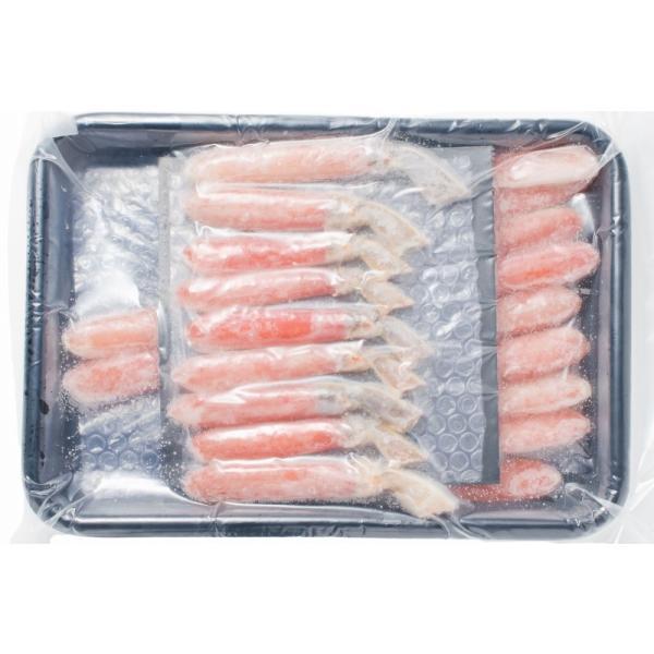 かにしゃぶ ズワイガニ ポーション ずわいがに 生ズワイガニ 刺身 むき身 3L 500g BBQ バーベキュー かに カニ 蟹 刺身 カニ鍋 焼きガニ|tsukiji-ousama|17