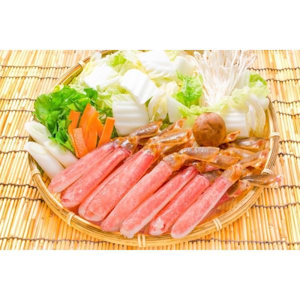 かにしゃぶ ズワイガニ ポーション ずわいがに 生ズワイガニ 刺身 むき身 3L 500g BBQ バーベキュー かに カニ 蟹 刺身 カニ鍋 焼きガニ|tsukiji-ousama|07