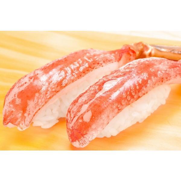 かにしゃぶ ズワイガニ ポーション ずわいがに 生ズワイガニ 刺身 むき身 3L 500g BBQ バーベキュー かに カニ 蟹 刺身 カニ鍋 焼きガニ|tsukiji-ousama|10
