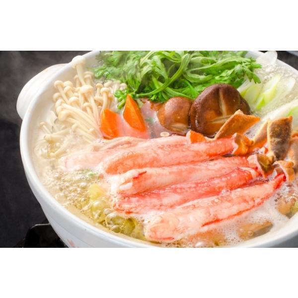 カット済み ズワイガニ ずわいがに セット 冷凍総重量約1.25kg 解凍時約 1kg かに鍋 かにしゃぶ お刺身 ポーション かに カニ 蟹 詰め合わせ|tsukiji-ousama|13