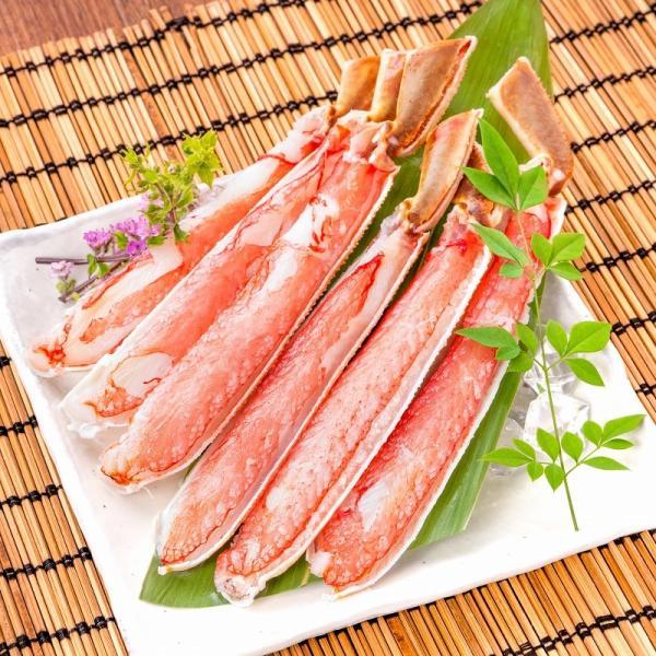 カット済み ズワイガニ ずわいがに セット 冷凍総重量約1.25kg 解凍時約 1kg かに鍋 かにしゃぶ お刺身 ポーション かに カニ 蟹 詰め合わせ|tsukiji-ousama|06