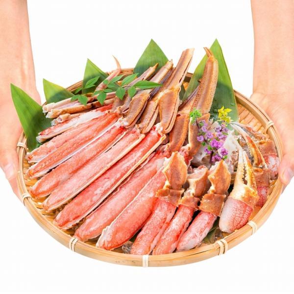 カット済み ズワイガニ ずわいがに セット 冷凍総重量約1.25kg 解凍時約 1kg かに鍋 かにしゃぶ お刺身 ポーション かに カニ 蟹 詰め合わせ|tsukiji-ousama|10