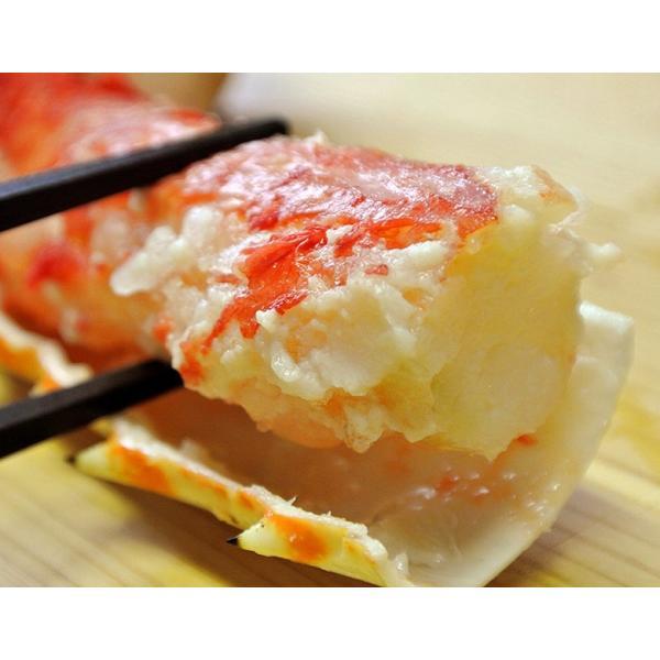 タラバ蟹 タラバガニ たらばがに ロシア産 特大 ボイル 約800g×6肩 合計4.8kg 12人前相当 送料無料 冷凍 たらば蟹 かに カニ 脚 タラバ|tsukijiichiba|02