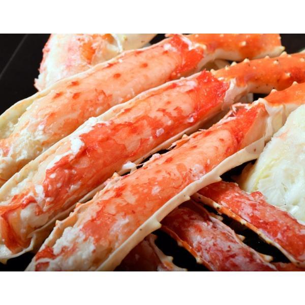 タラバ蟹 タラバガニ たらばがに ロシア産 特大 ボイル 約800g×6肩 合計4.8kg 12人前相当 送料無料 冷凍 たらば蟹 かに カニ 脚 タラバ|tsukijiichiba|03