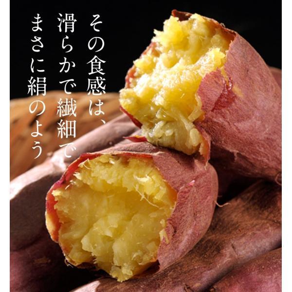 さつまいも 茨城県産 鹿吉のシルクスイート 1箱 約2kg 送料無料|tsukijiichiba|03