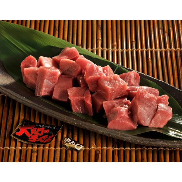 ≪送料無料≫青森産 大間の本マグロ 中トロぶつ切り200g ※冷凍 sea ☆|tsukijiichiba