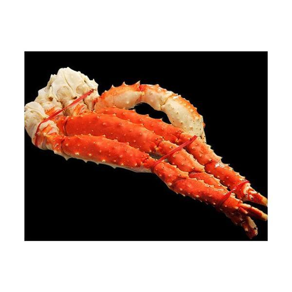 蟹 かに カニ タラバガニ たらばがに 《送料無料》 「特大ボイルタラバ蟹」ロシア産 1肩 約800g(2人前相当)  冷凍 sea ☆|tsukijiichiba