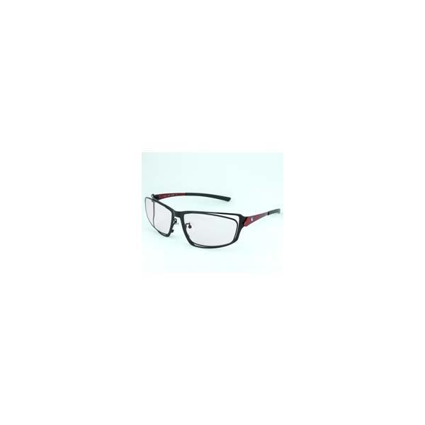 ニデック G-SQUAREアイウェア Professional Model フルリム C2FGEA6RENP5005 フレーム:レッド、レンズ:ワインレッドの画像