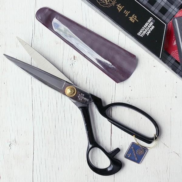庄三郎 標準型 ラシャ切りばさみ はさみ 庄三郎 24cm ハサミ| つくる楽しみ