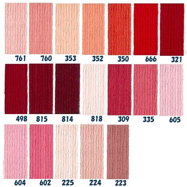 糸 刺繍糸 ( 刺しゅう糸 ) DMC 5番 25m Art115 コットンパール (色見本番号A)   つくる楽しみ 1909sale tsukurutanosimi 02