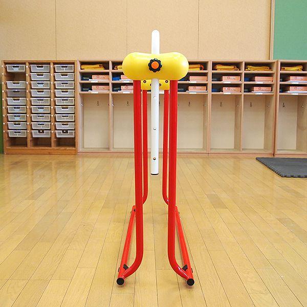 鉄棒 日本製 子供用鉄棒 ツムラこども鉄棒 逆上がりのコツDVD付 組立不要 耐荷重70kg|tsumura|04