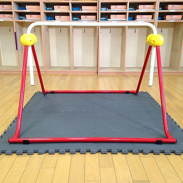 鉄棒 日本製 子供用鉄棒 ツムラこども鉄棒 逆上がりのコツDVD付 組立不要 耐荷重70kg|tsumura|05