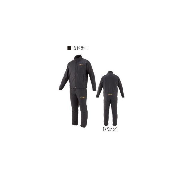 がまかつ ゴアテックス (R) オールウェザースーツ GM-3611 ブラック 5Lサイズ / レインウェア (送料無料) [お取り寄せ] (セール対象商品)|tsuribitokan-masuda|02