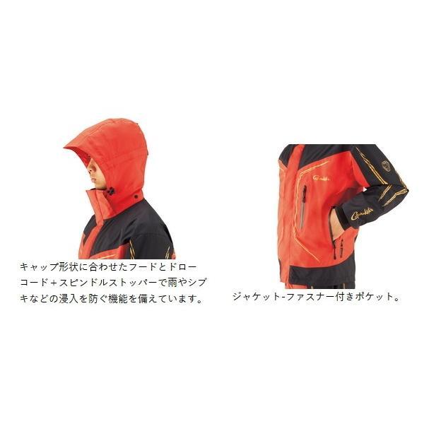 がまかつ ゴアテックス (R) オールウェザースーツ GM-3611 ブラック 5Lサイズ / レインウェア (送料無料) [お取り寄せ] (セール対象商品)|tsuribitokan-masuda|03