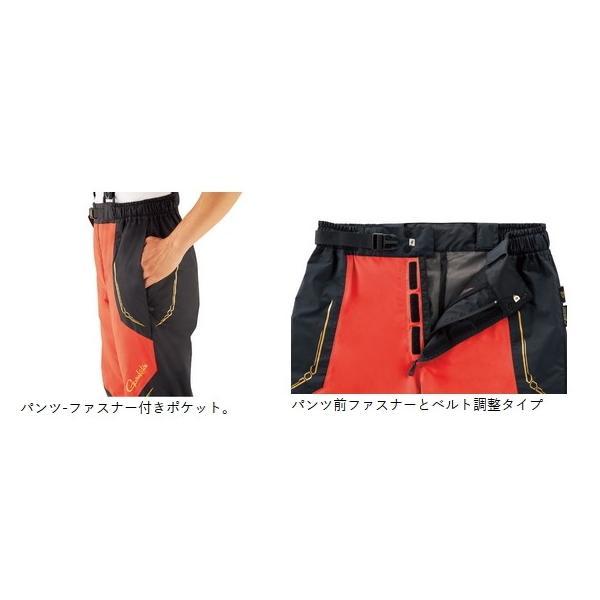 がまかつ ゴアテックス (R) オールウェザースーツ GM-3611 ブラック 5Lサイズ / レインウェア (送料無料) [お取り寄せ] (セール対象商品)|tsuribitokan-masuda|04