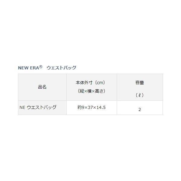 ダイワ NEW ERA(R) ウエストバッグ ブラック 2L