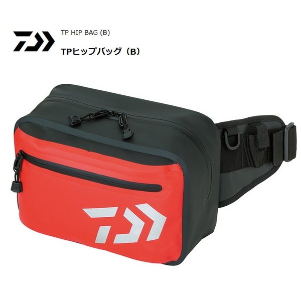 ダイワ TP ヒップバッグ (B) レッド (D01) (O01)