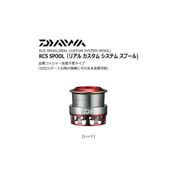 ダイワ RCS エアスプールII 2508PE レッド (送料無料)