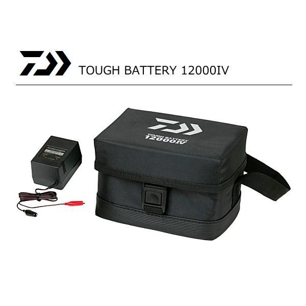 (数量限定セール) ダイワ タフバッテリー 12000 IV / 電動リール バッテリー|tsuribitokan-masuda