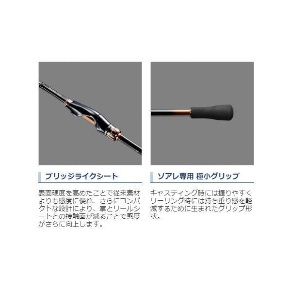 シマノ 18 ソアレ SS S76UL-S / ルアーロッド