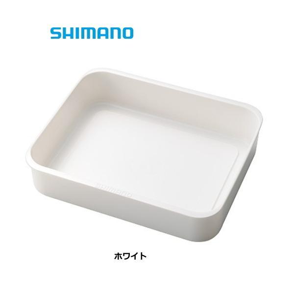 シマノ FIXCEL トレー 27L用 AC-C23Q ホワイト  (S01) (O01) (セール対象商品)