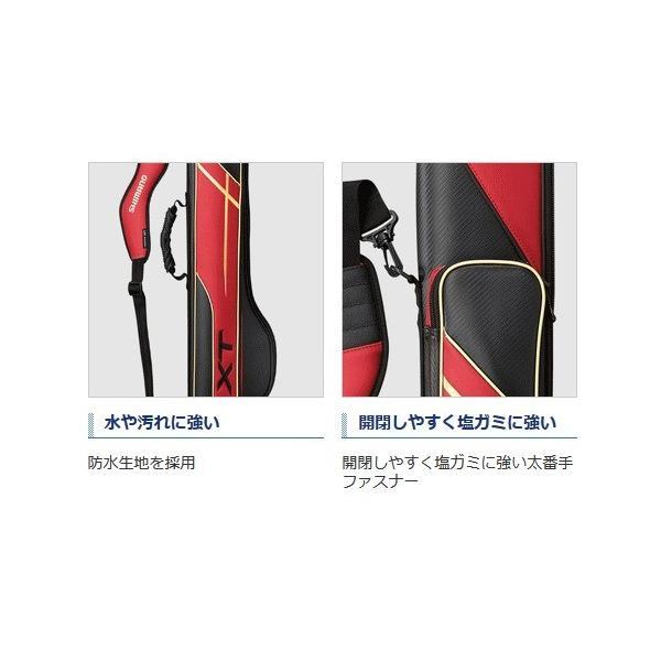 シマノ ロッドケース XT スリム RC-125R ディープブルー 135R (S01) (O01) (大型商品 代引不可)