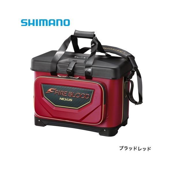 シマノ 磯クール リミテッドプロ BA-112S ブラッドレッド 25L / 磯バッグ (S01) (O01) (セール対象商品)