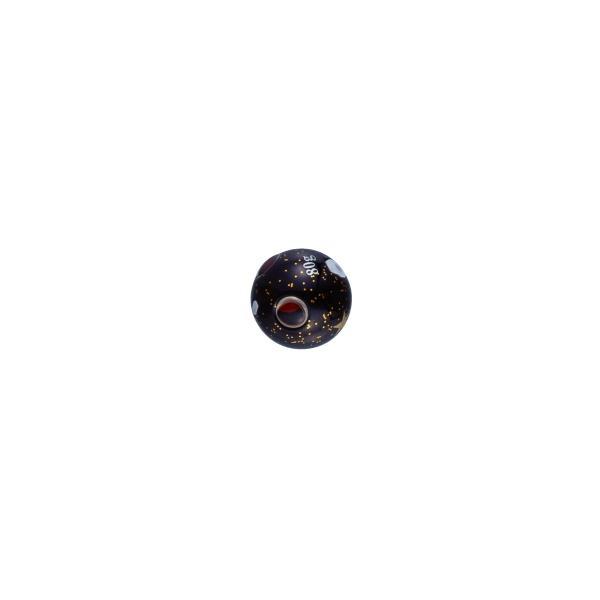 がまかつ ラグゼ 桜幻 鯛ラバーQ TGシンカー 110g #20 ブラック/ゴールドフレーク / オモリ タイラバ (お取り寄せ)