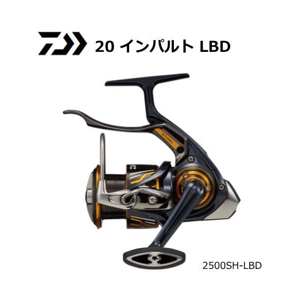 ダイワ 20 インパルト 2500SH-LBD / レバーブレーキ付リール (送料無料)