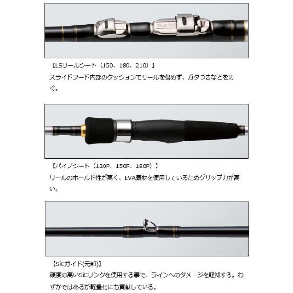 (ポイント3倍) ダイワ 18 飛竜 イカダ 120P・V / 筏竿 (D01) (O01)