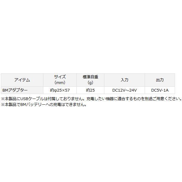 (ポイント2倍) ダイワ BMアダプター (D01) (O01)
