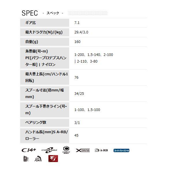 (ポイント2倍) シマノ 12 ステファーノ CI4+ 201 左ハンドル