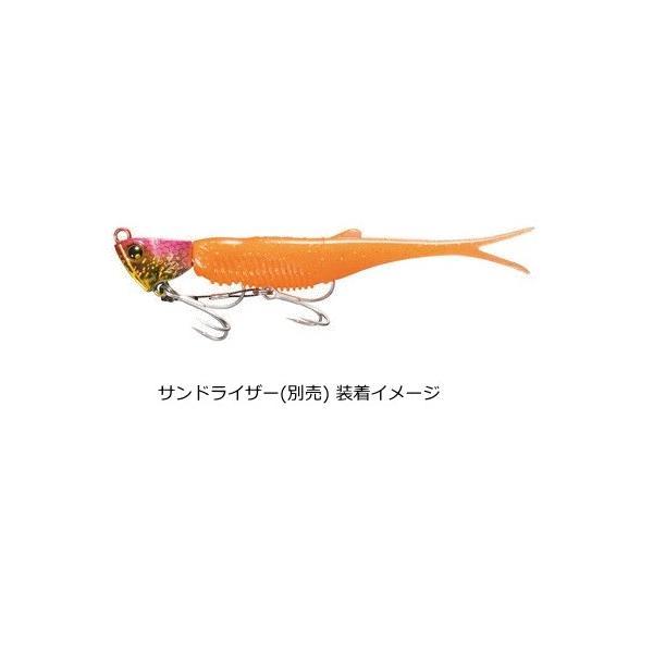 シマノ 熱砂 ツインラッシュ OW-240R 4インチ 10T ハイビスカスピンク (5本入) / ワーム ルアー (メール便可)
