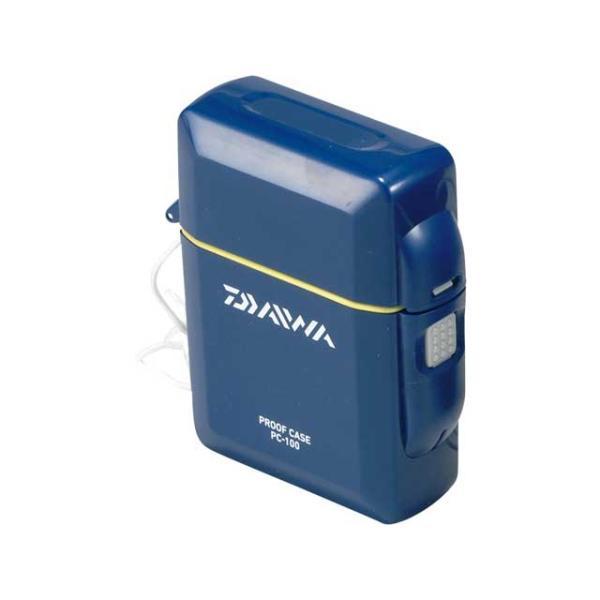 ダイワ/DAIWA プルーフケース PC-100 カラー:ネイビー (釣り専用簡易防水ケース)