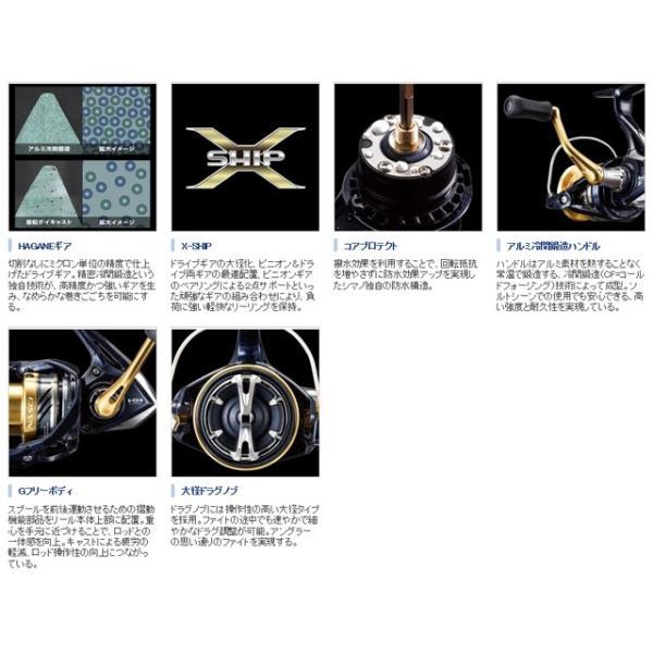 シマノ/Shimano ナスキー C2000HGS (2016 NASCI 浅溝ハイギア汎用スピニング I字ノブ)