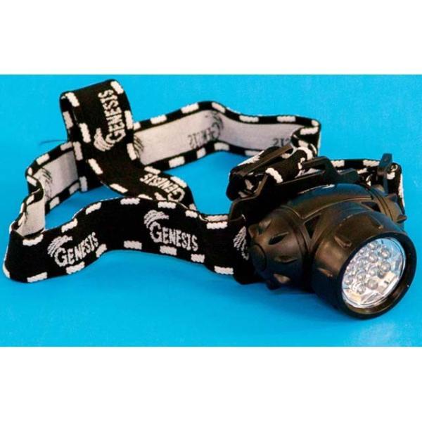 ジェネシス/GENESIS TT-2522 高輝度12LEDヘッドライト (ヘッドランプ 単4電池3本使用)