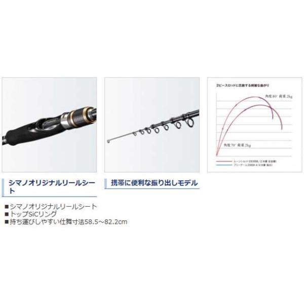 シマノ/SHIMANO フリーゲーム S80ML-4 (18 FREEGAME ルアー/エサ釣り兼用 外ガイド 振り出しロッド)