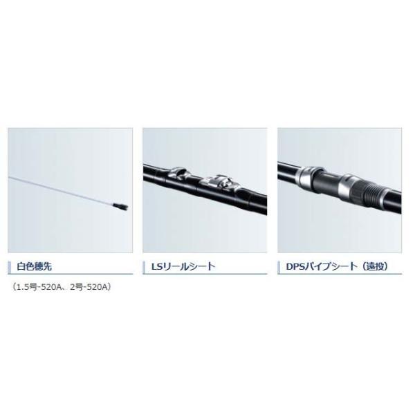 シマノ/SHIMANO IG ハイスピード アペルト 1.5号 520A (18 アオリイカ用 白色穂先 中通し汎用 磯竿)