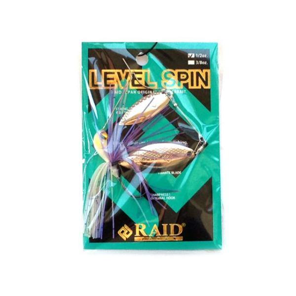 レイドジャパン/RAIDJAPAN レベルスピン 3/8oz (LEVEL SPIN 10.5g)