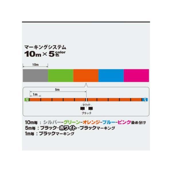 デュエル/DUEL ハードコア X8 300m巻 カラー:10m×5色 (HARDCORE X8 PEライン)