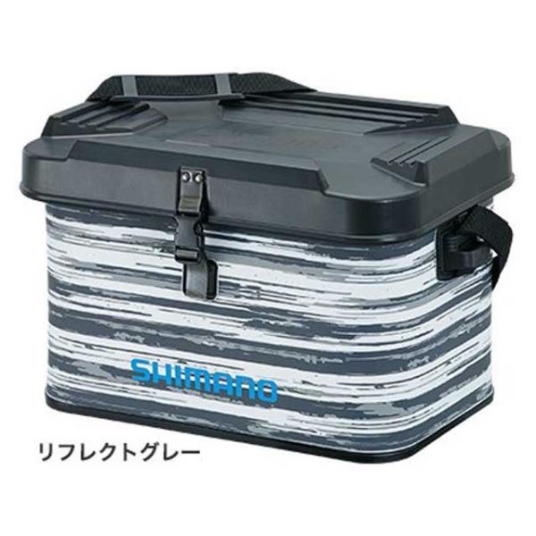 シマノ/SHIMANO BK-002T EVA タックルバッグ 27L ハードタイプ (外寸:30×45×30cm)