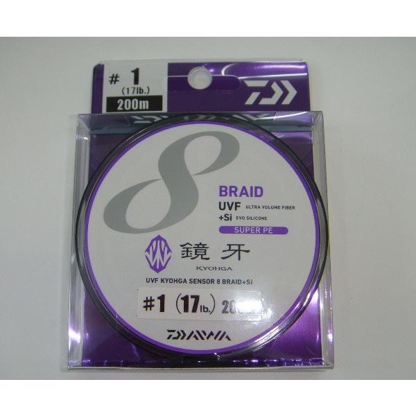 ダイワ UVF 鏡牙センサー 8ブレイド+Si 1-200 タチウオ PEライン