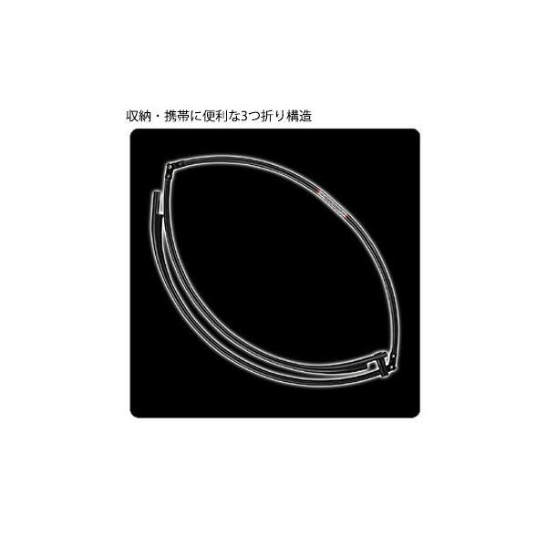 PROX プロックス カーボンフレーム ラウンド(3つ折) 規格50 PX89650