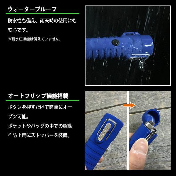 USB充電式 防水防風プラズマライター フラッシュライト搭載 フィッシング、キャンプ、バーベキュー 新品|tsuriking|04