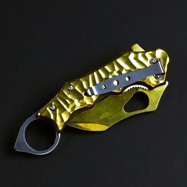 ブローニング フォールディングナイフ B65 カランビットナ 新品 折りたたみナイフ フィッシングナイフ アウトドア 釣りナイフ BROWNING tsuriking 07