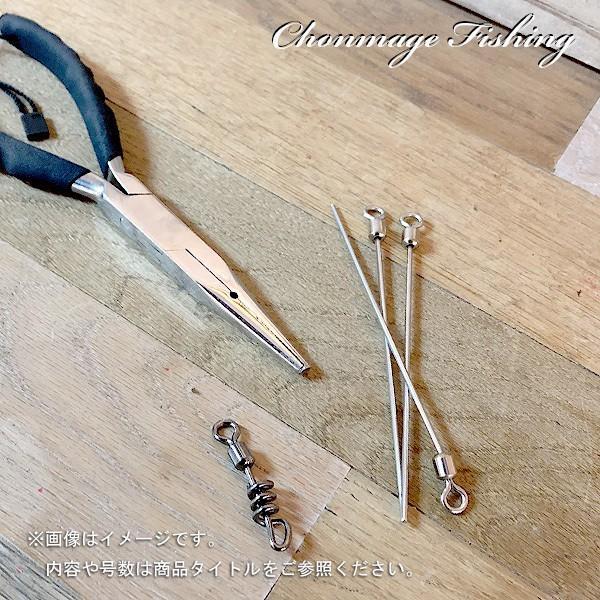 ラセンサルカン 直結タイプ 自作用 2/0 10個入 CHONMAGE FISHING 石鯛 クエ 新品|tsuriking|05