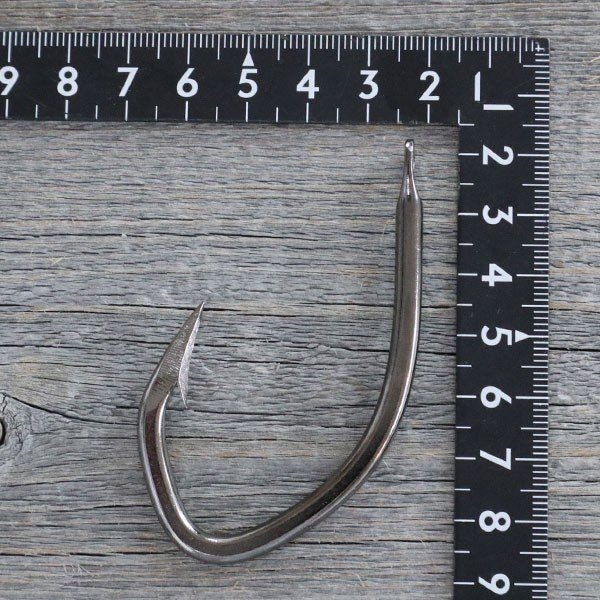 CHONMAGE FISHING 改良カジキ針(クエ)40号 お試し用 2本入 クエ アラ 大物釣り 丁髷フィッシング 新品