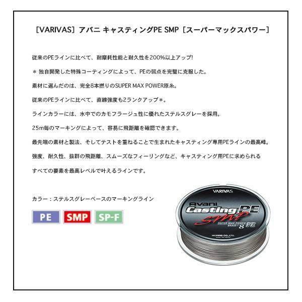 バリバス アバニ キャスティング PE SMP 200m 4号 VARIVAS 新品|tsuriking|02