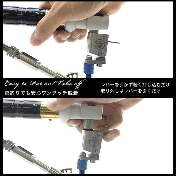CHONMAGEFISHING 専用 石突クランプキット 竿受け用パーツ 新品 tsuriking 02