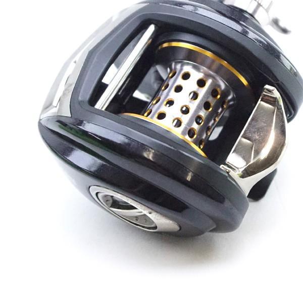 美品 アブガルシア レボ  パワークランク 5 ヤバイキット付き/D414M|tsuriking|05